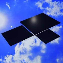 Grünke® Acrylglas XT schwarz, glänzend (Wunschmaße) Zuschnitt Platte (Stärke: 3 - 5mm)