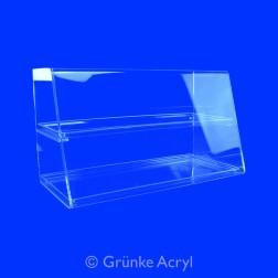 Original Thekenaufsatz Nr. 2 Acryl Premium Spuckschutz Vitrine Breite: 60cm -100cm
