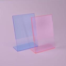 l aufsteller aus hochwertigem plexiglas acrylglas von. Black Bedroom Furniture Sets. Home Design Ideas