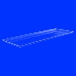 Original Grünke Tabletts aus Acrylglas farblos, transparent