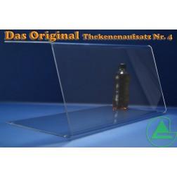 80cm Thekenaufsatz / Spuckschutz Nr. 4