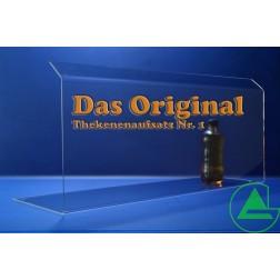 80cm Thekenaufsatz / Spuckschutz Nr. 1
