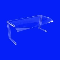 Spuckschutz für Buffet GB1 - Grünke® Acryl Abdeckung & Tischaufsatz