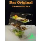 Original Thekenaufsatz Nr. 3 - Spuckschutz - Altes Bild - Grünke Acryl
